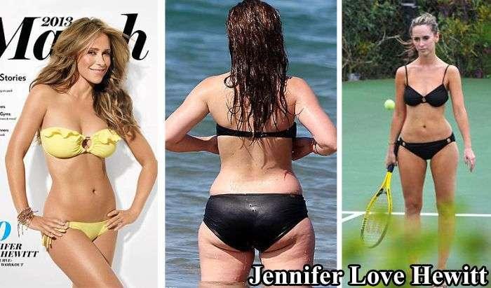 海外の女性有名人たちの修正してない「皮膚」がヤバい(;゚Д゚)