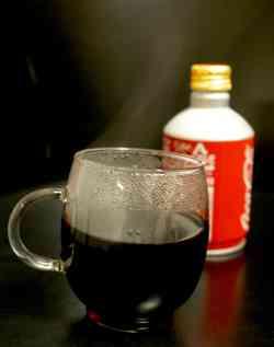 ストーブの前にコーラを置いておくと大変ヤバイことになるwww