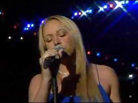 Mariah Carey - Star Spangled Banner (pre-recorded) - YouTube