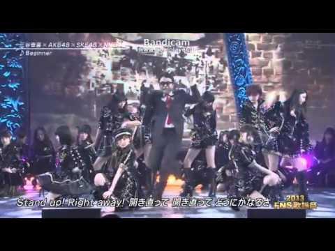 【HD】2013FNS歌謡祭 三谷幸喜×AKB48×SKE48   Beginner 2013.12.04 - YouTube