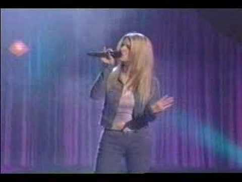 Jessica Simpson - I wanna love you forever live - YouTube