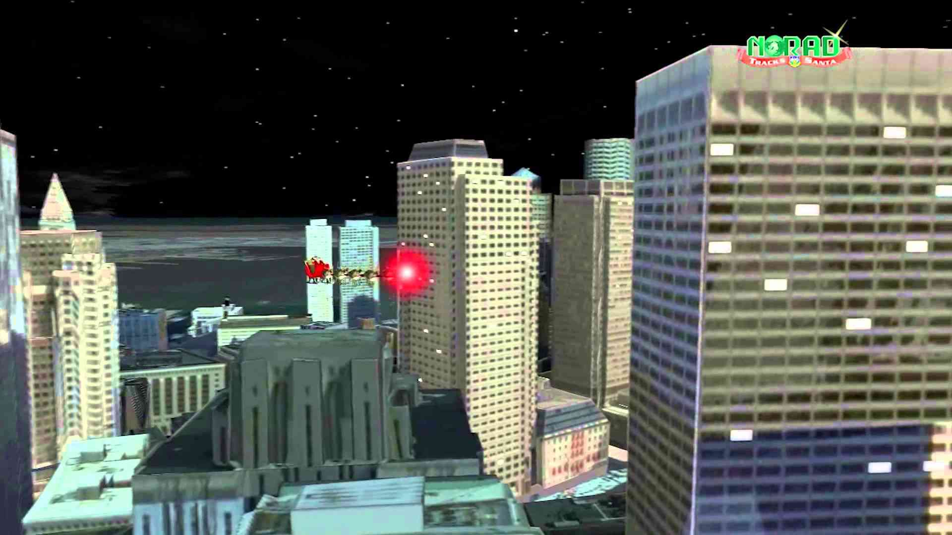 Norad Tracks Santa Trailer Video 2013 - YouTube