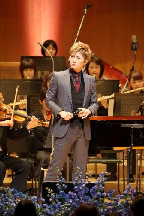 GACKT、東京フィルハーモニー交響楽団と華麗なる共演