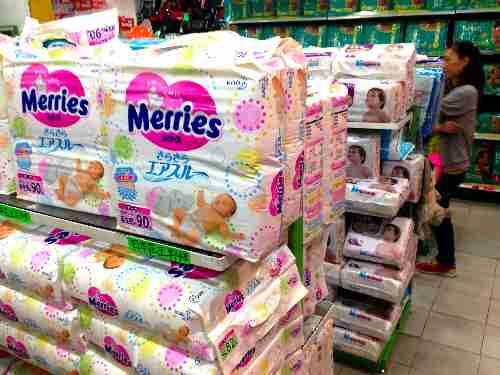 日本から紙おむつ「メリーズ」が消える→ブローカーが買占め、中国で高値で販売 九州で1300円→広州で2500円