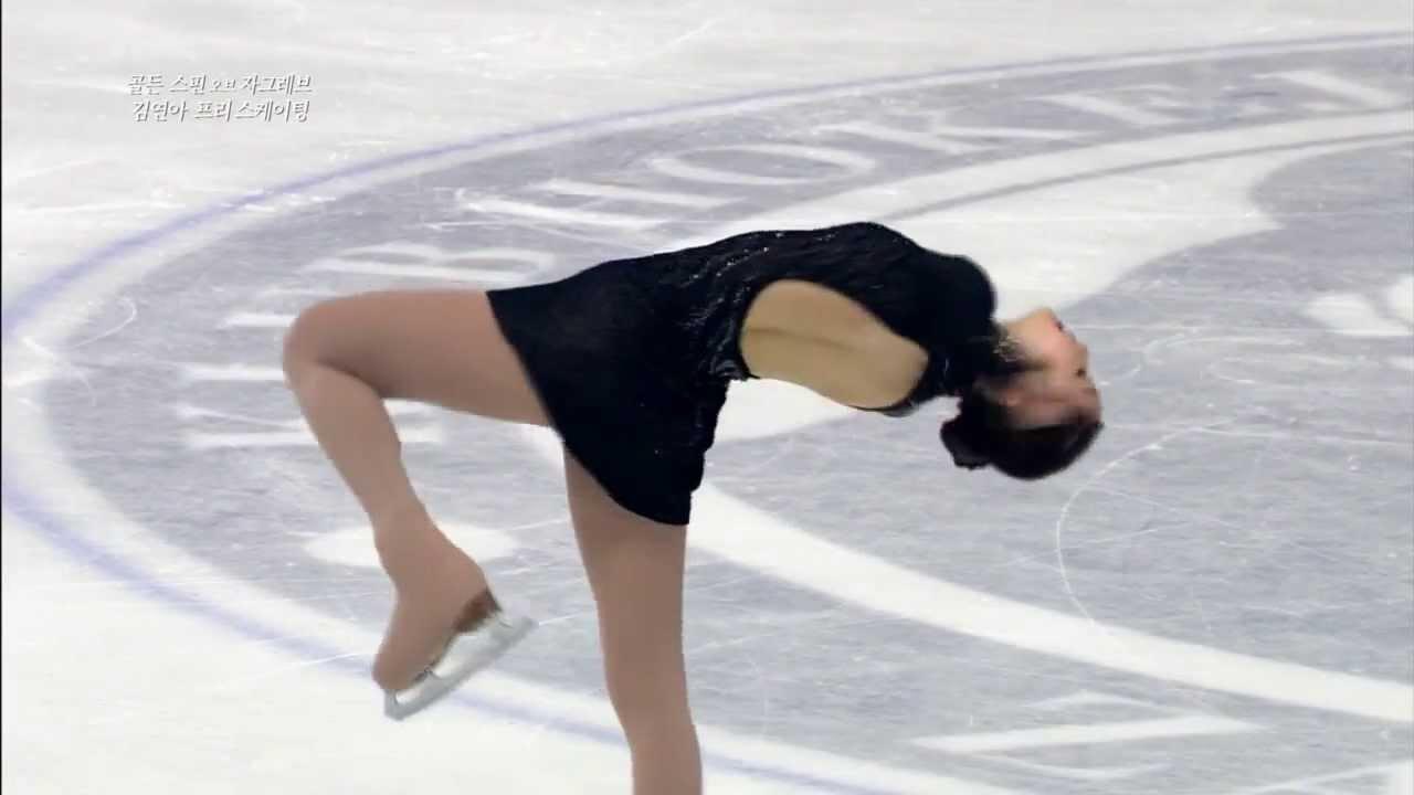 Yuna Kim - Adios Nonino, 김연아 프리 스케이팅, 20131207 - YouTube