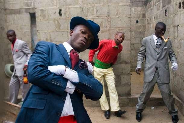 貧困にも屈しないコンゴのファッション集団「サプール」 - Peachy - ライブドアニュース