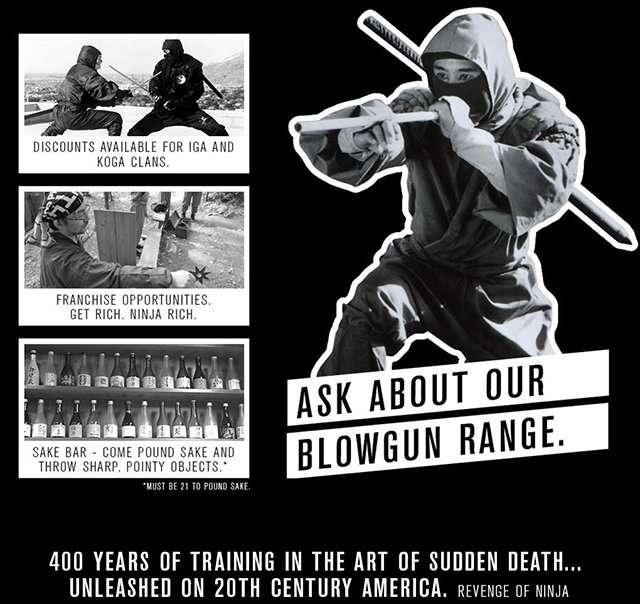 手裏剣を練習できるニンジャバー、アメリカで2014年春にオープン