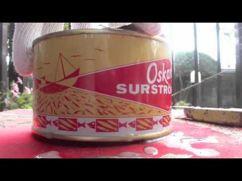 世界一臭い食べ物 シュールストレミング  Surstromming - YouTube