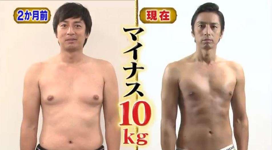チュートリアル・徳井義実が2ヶ月ダイエットした結果www