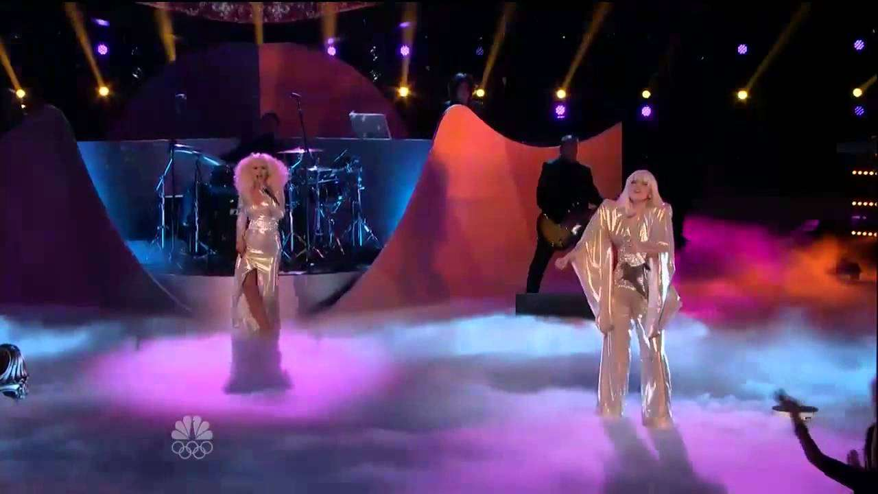 Lady Gaga & Christina Aguilera - Do What U Want (Live The Voice) - YouTube