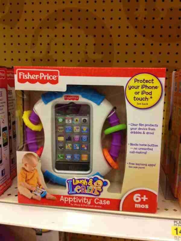 「買わないで!」の声が殺到 アメリカのオモチャ会社がiPadを固定できるベビーチェアを発売中