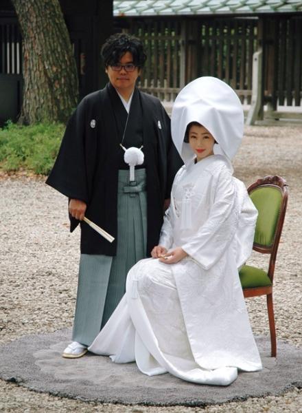 井上和香、ブログで挙式を報告 人生初の白無垢に「本当に幸せ」
