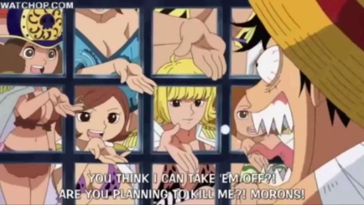 One Piece funny moments - YouTube
