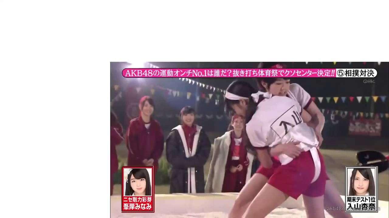 【放送事故】峯岸みなみ 剛力彩芽を馬鹿にしまくるモノマネダンス  AKB48 - YouTube