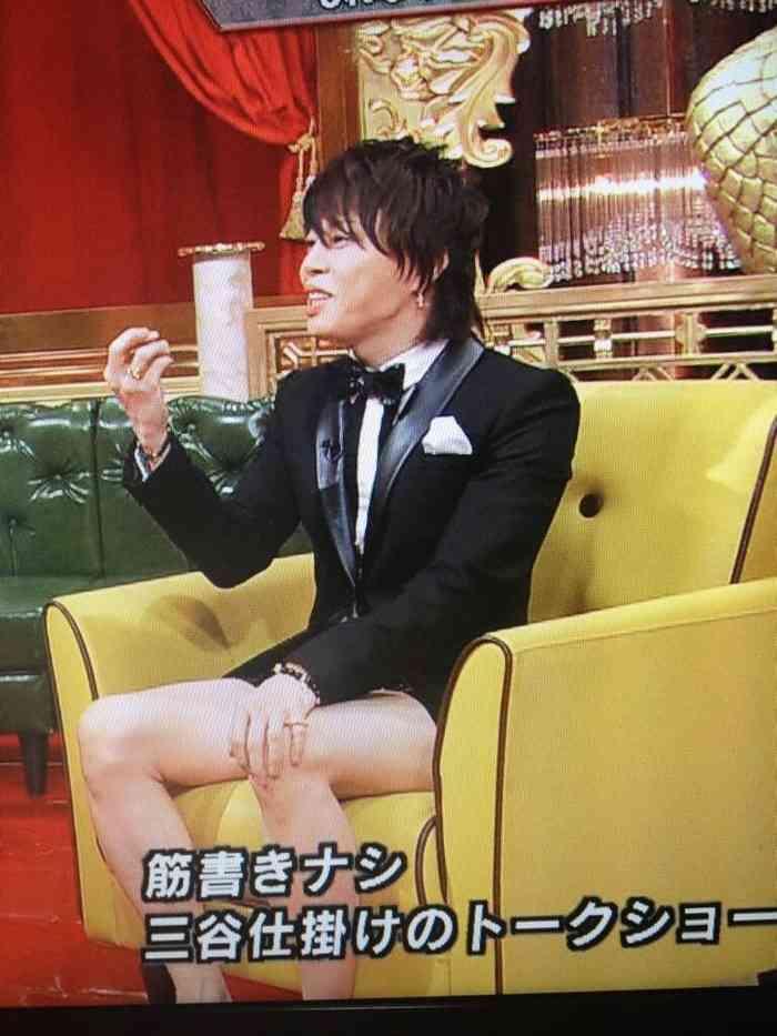 T.M.Revolution西川貴教さん、ホットパンツのレベルを上げすぎコナンみたいな感じにw