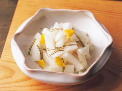 [柚子(ゆず)大根] 料理レシピ みんなのきょうの料理
