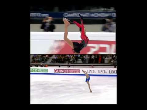 真央とヨナの演技を採点付で完全比較! フィギュアスケートが死んだ日 - YouTube