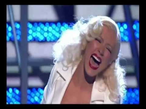 Lady Gaga vs Christina Aguilera Vocal Battle (live) - YouTube