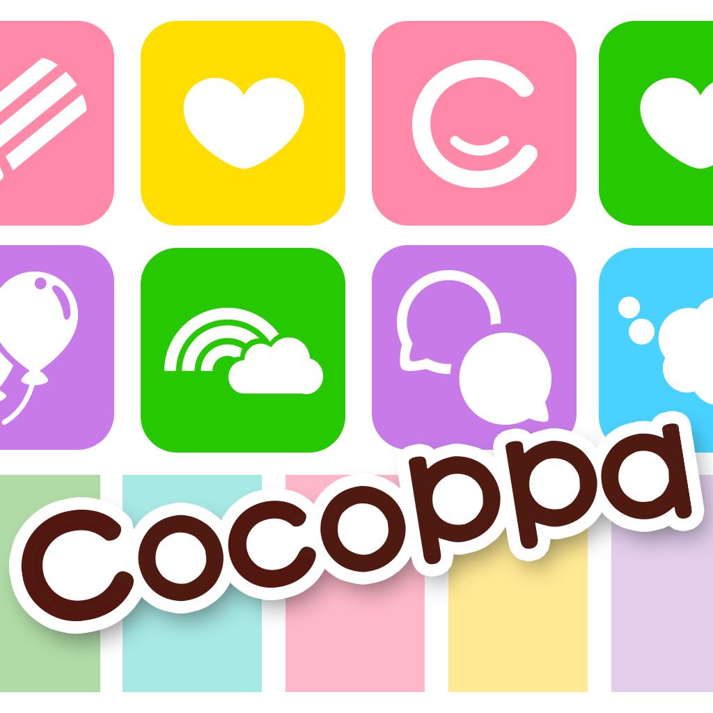 iTunes の App Store で配信中の iPhone、iPod touch、iPad 用 アイコン無料きせかえCocoPPa(ココッパ)- かわいい壁紙待受も取り放題!