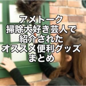 アメトーク 掃除大好き芸人で紹介されたオススメ超便利グッズまとめ | nori510.com