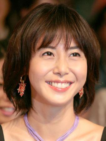 松嶋菜々子、テレビマンが選ぶ「使いたくない女優」ナンバー1に
