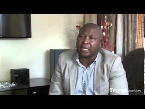 Mandela memorial signer: Please forgive me, I was seeing angels - YouTube