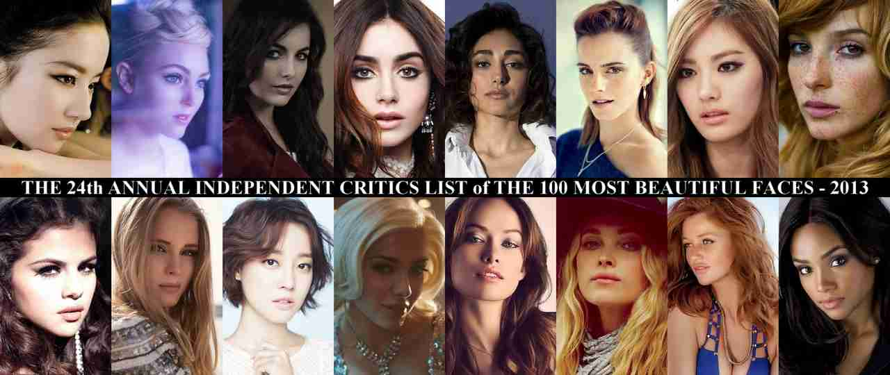 The Independent Critics List | The 100 Most Beautiful Faces of 2013 – presented by TC Candler