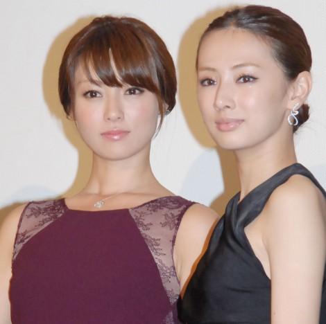 深田恭子&北川景子、女性同士のキス初挑戦!感想は「柔らかかった」