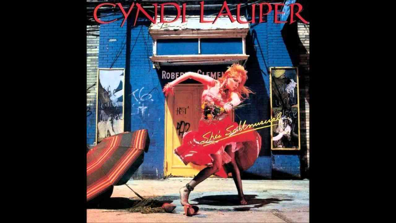 Cyndi Lauper - All Through The Night - YouTube