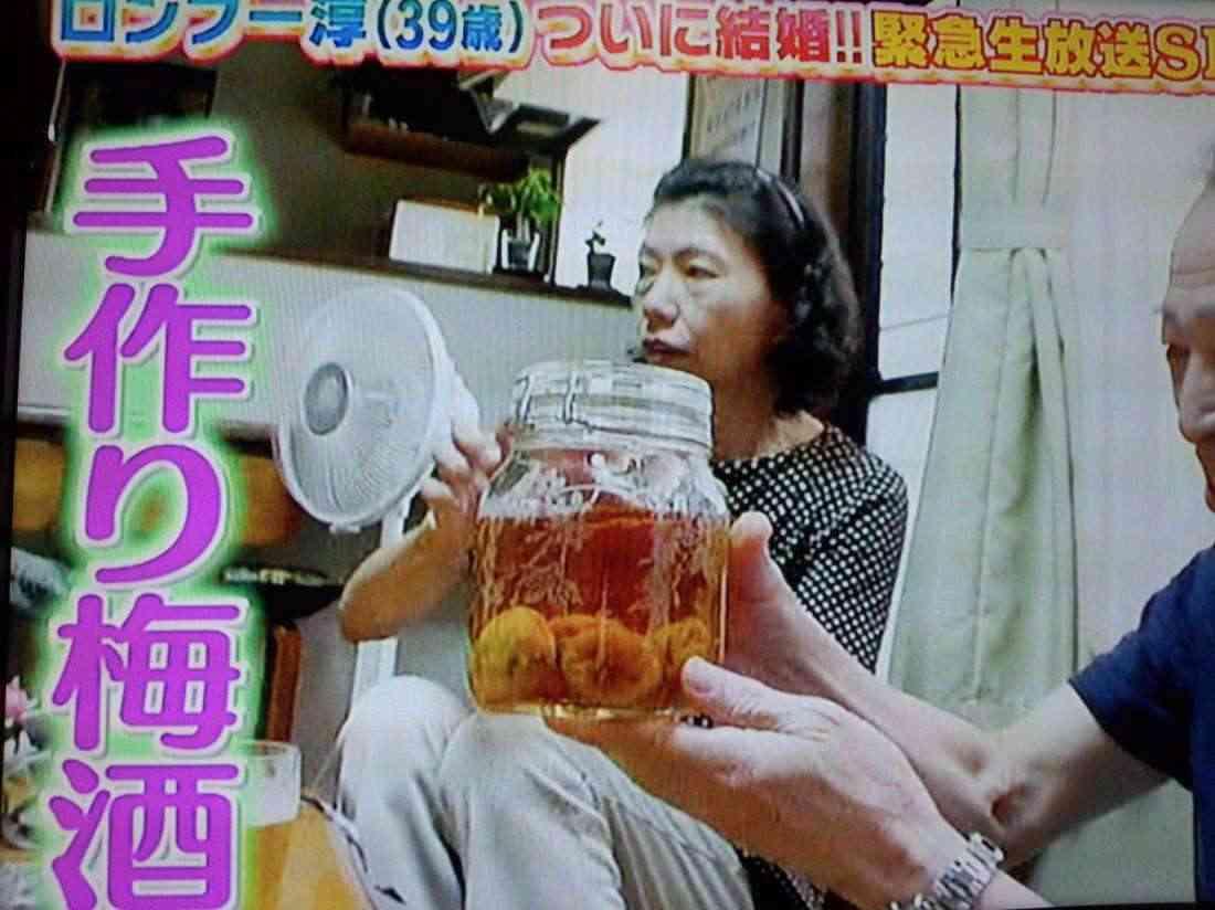 ロンドンブーツ田村淳の嫁・香那さんが贈った手作り品、「梅酒」も簡単調達と判明ww「出川哲朗彫刻皿」も同じスクールで作れるっぽいww