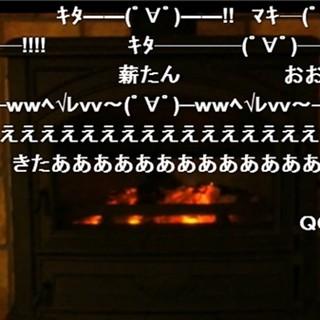 「薪」再び、今度は完全生放送!『薪が燃えている生放送27時間』1/11ニコ生 | マイナビニュース