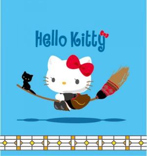 『魔女の宅急便』×キティちゃん、夢のコラボ決定!黒猫ジジをお供に空を飛ぶ - 映画 - ニュース - クランクイン!