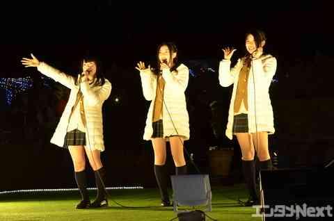 SKE48の終身名誉研究生・松村らがイルミネーションに感激!   エンタメNEXT - アイドル情報総合ニュースサイト
