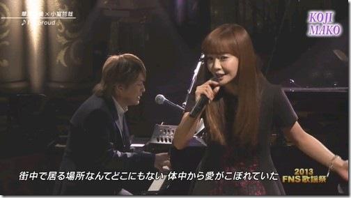 華原朋美が「FNS歌謡祭」で共演直後、小室哲哉にしていた