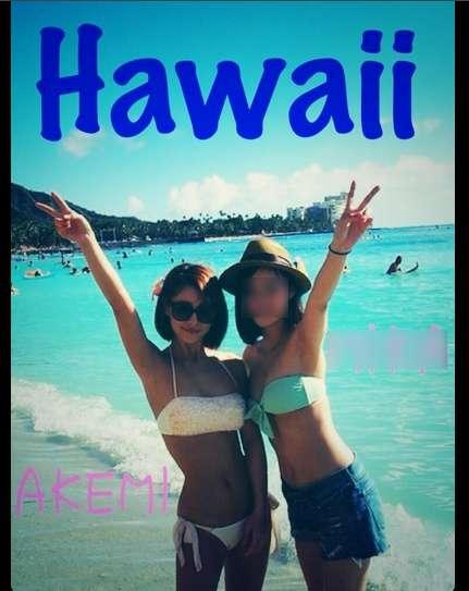 ダレノガレ明美、ハワイでのビキニショットを公開「日本人にナンパされた」
