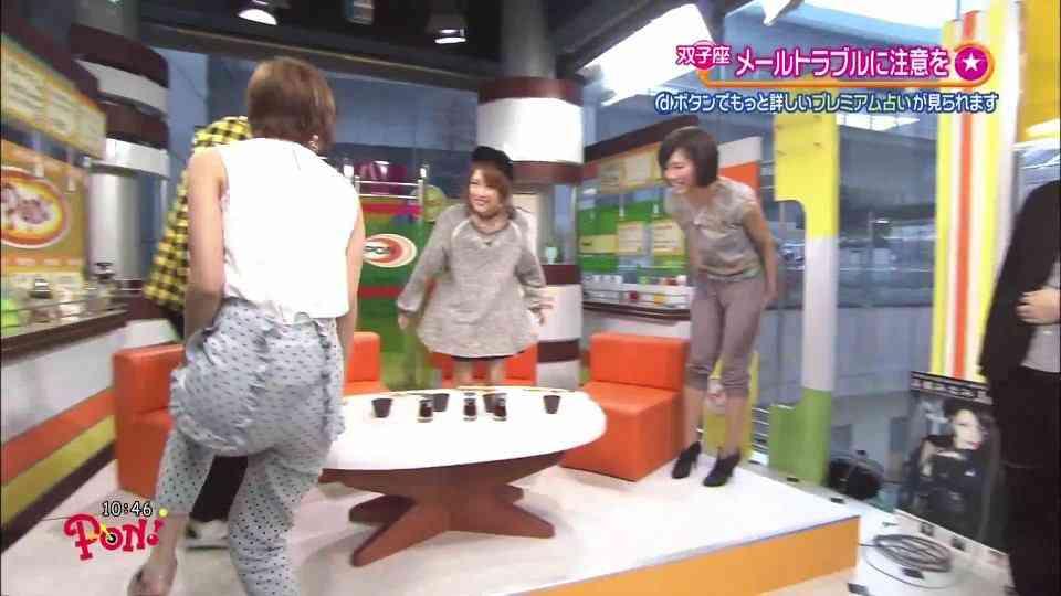 【悲報】AKB48篠田麻里子のTバックが透けてまう
