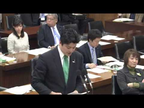 2013/04/11 衆議院 消費者問題特別委員会 みんなの党 三谷英弘の質疑(レーシック、パチンコ、薬ネット通販) - YouTube