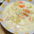 簡単に出来る☆濃厚ホワイトシチュー by ★こもも [クックパッド] 簡単おいしいみんなのレシピが162万品