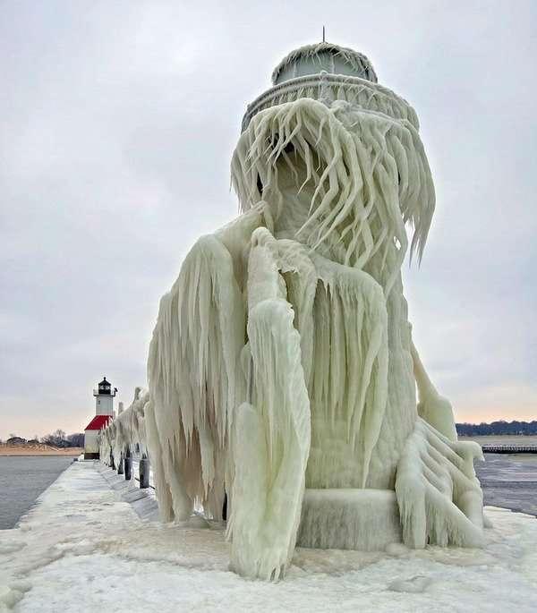 アメリカの寒波がヤバすぎてまるで映画『デイ・アフター・トゥモロー』のようだと話題に