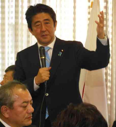 安倍首相「何と言っても経済最優先」 - 政治ニュース : nikkansports.com