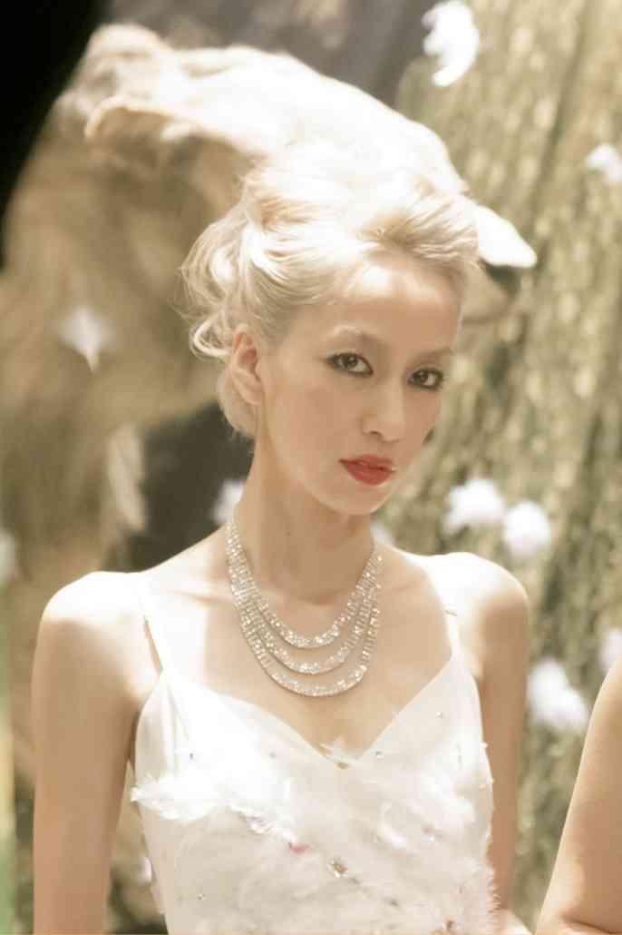 中島美嘉、品川ヒロシ監督の最新作「サンブンノイチ」キャバ嬢役で妖艶なドレス姿に