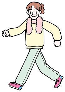 その人の歩き方で、性格がわかってしまう 「せかせか歩く:攻撃的」