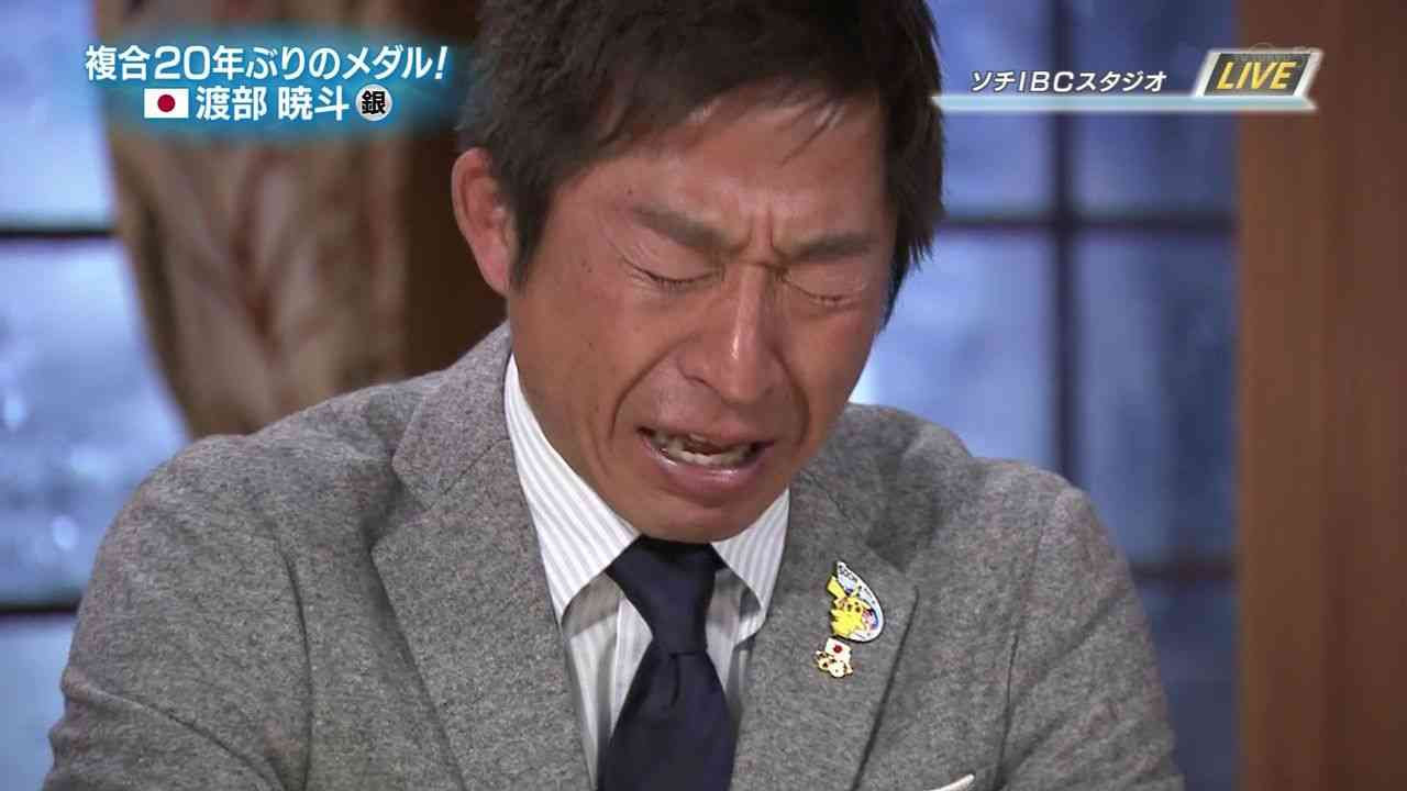 ノルディック複合、渡部暁斗選手が銀メダルを獲得。生放送中に荻原次晴号泣 - ネット上でも「もらい泣き」