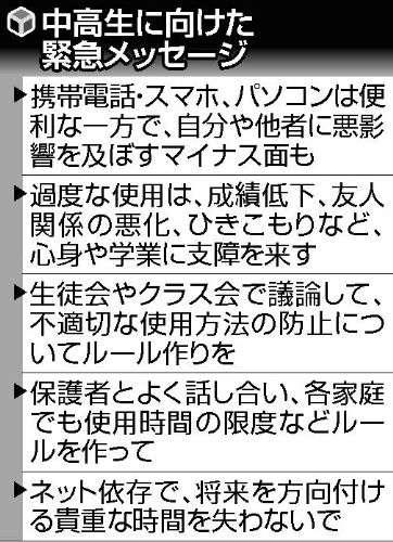 スマホで3日不眠の女子、進学できなかった男子 : ニュース : ネット&デジタル : YOMIURI ONLINE(読売新聞)