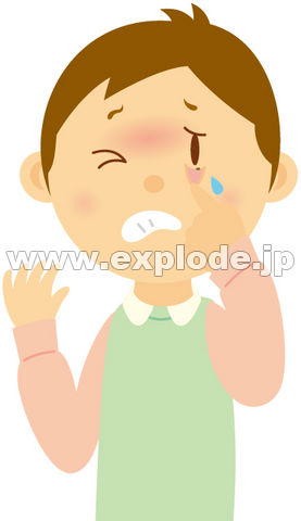 【閲覧注意】涙の代わりに目から「小石」が出るイエメンの12歳少女。