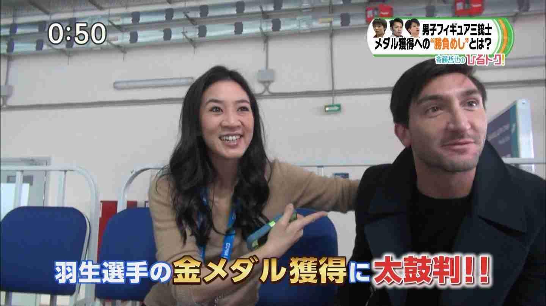 日本のテレビ局が全世界に恥を晒す!フィギュア前回王者ライサチェックに「あなたはどこから来ましたか?」