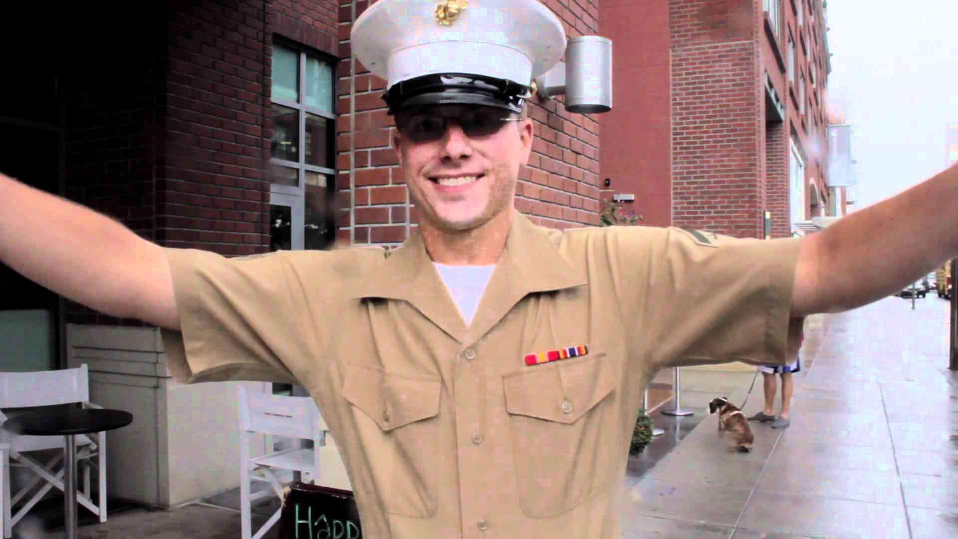 No. 23: Fleet Week hugs from San Francisco, CA - YouTube