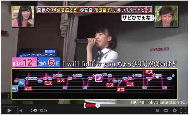 HKT48の歌唱力がヤバイwww