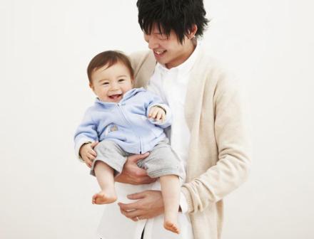 【育児】パパの抱っこ
