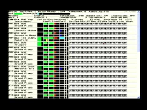 8時だヨ!全員集合 加藤茶の「ちょっとだけよ」(Taboo)をYAMAHA MU2000で - YouTube